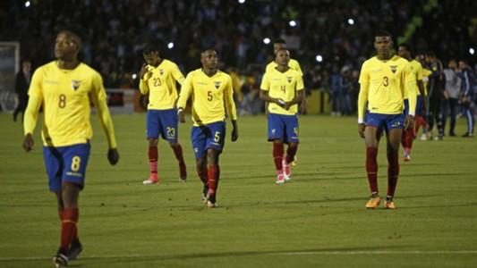 Resultado de imagen para ecuador jugadores sancionados