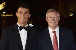 Cristiano Ronaldo Sir Alex Ferguson