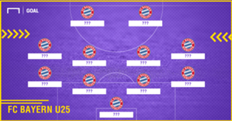 FC Bayern Top 11 U25 GFX