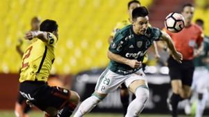 Willian Bigode Barcelona Guayaquil Palmeiras Libertadores 05072017