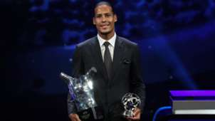 Virgil van Dijk UEFA Player of the Year 2019