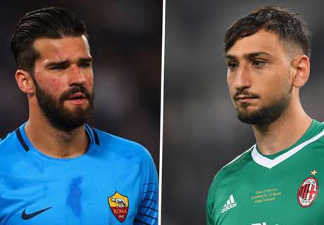 Roma want Donnarumma as Alisson replacement
