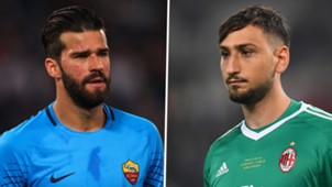 Alisson Becker, Gianluigi Donnarumma