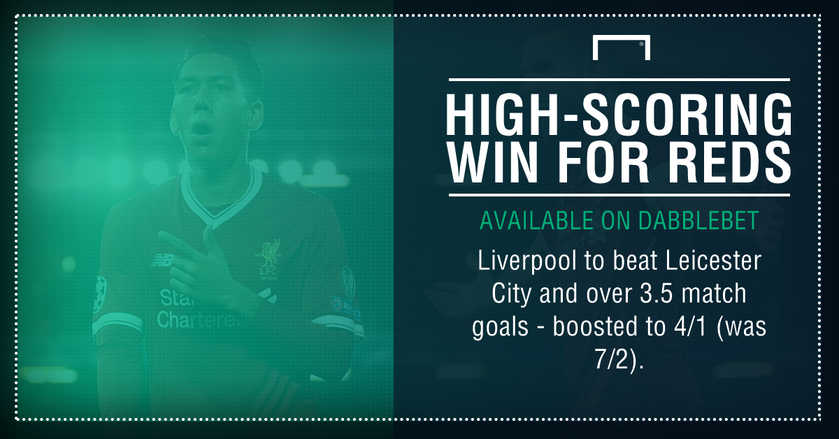 Leicester Liverpool boost graphic