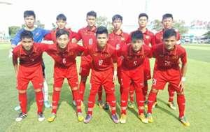 U15 Việt Nam U15 Malaysia AFF Cup 2017