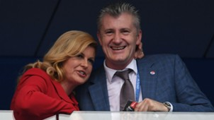france croatia - kolinda grabar kitarovic davor suker - world cup final - 15072018