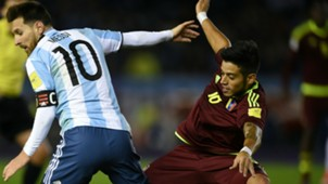 Junior Moreno Lionel Messi Venezuela Argentina