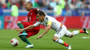 Ricardo Quaresma Andres Guardado Portugal Mexico Confederations Cup