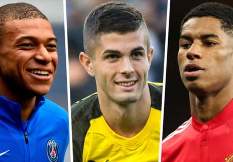 The world's most expensive young players