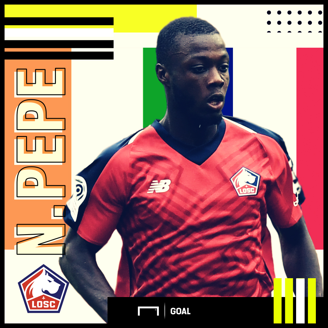 Nicolas Pepe French Connection GFX 25102018