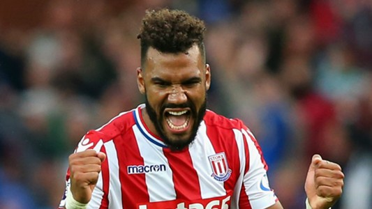 Eric Maxim Choupo-Moting Stoke City 2017-18