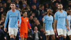 Aymeric Laporte Ilkay Gundogan Manchester City Chelsea 081218