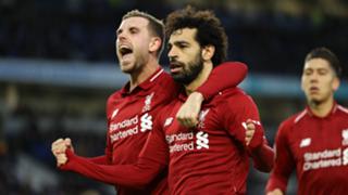 Mohamed Salah Jordan Henderson Liverpool 2018-19