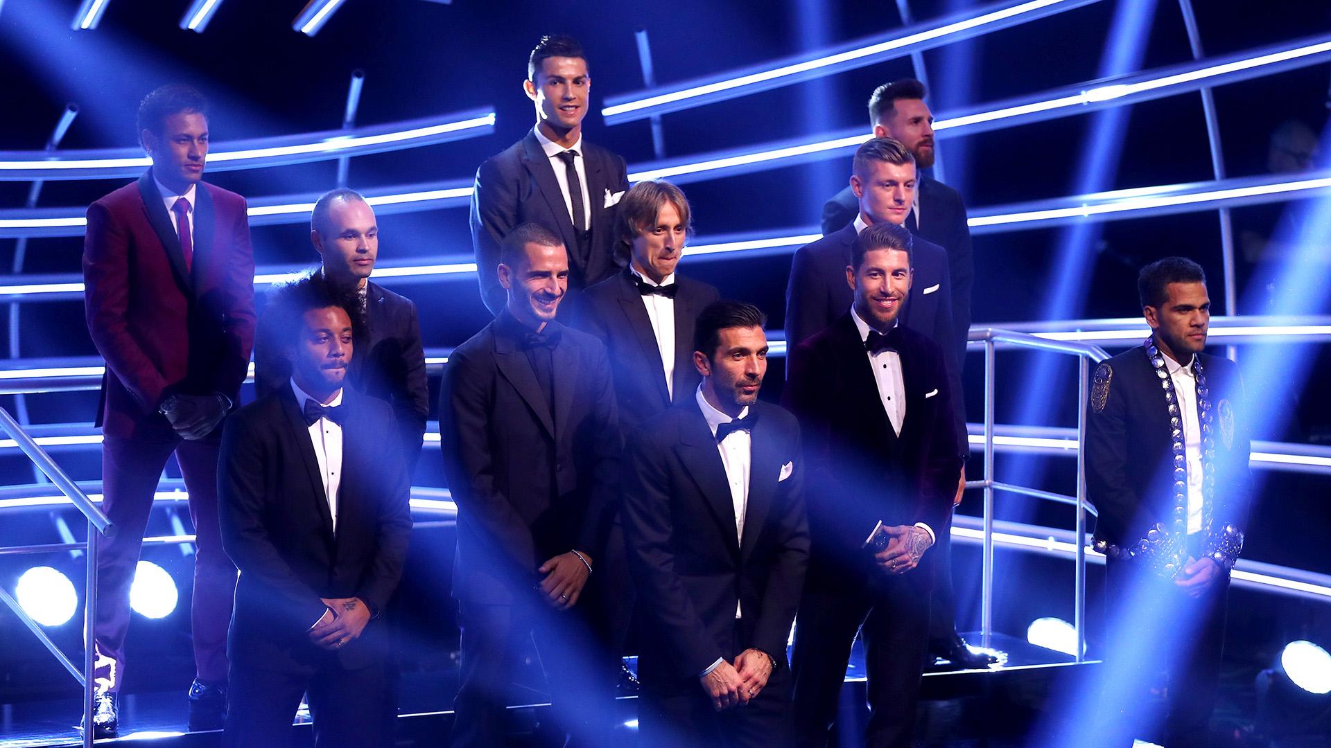 World XI 2017 FIFA The Best 23102017