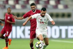 قطر - فلسطين