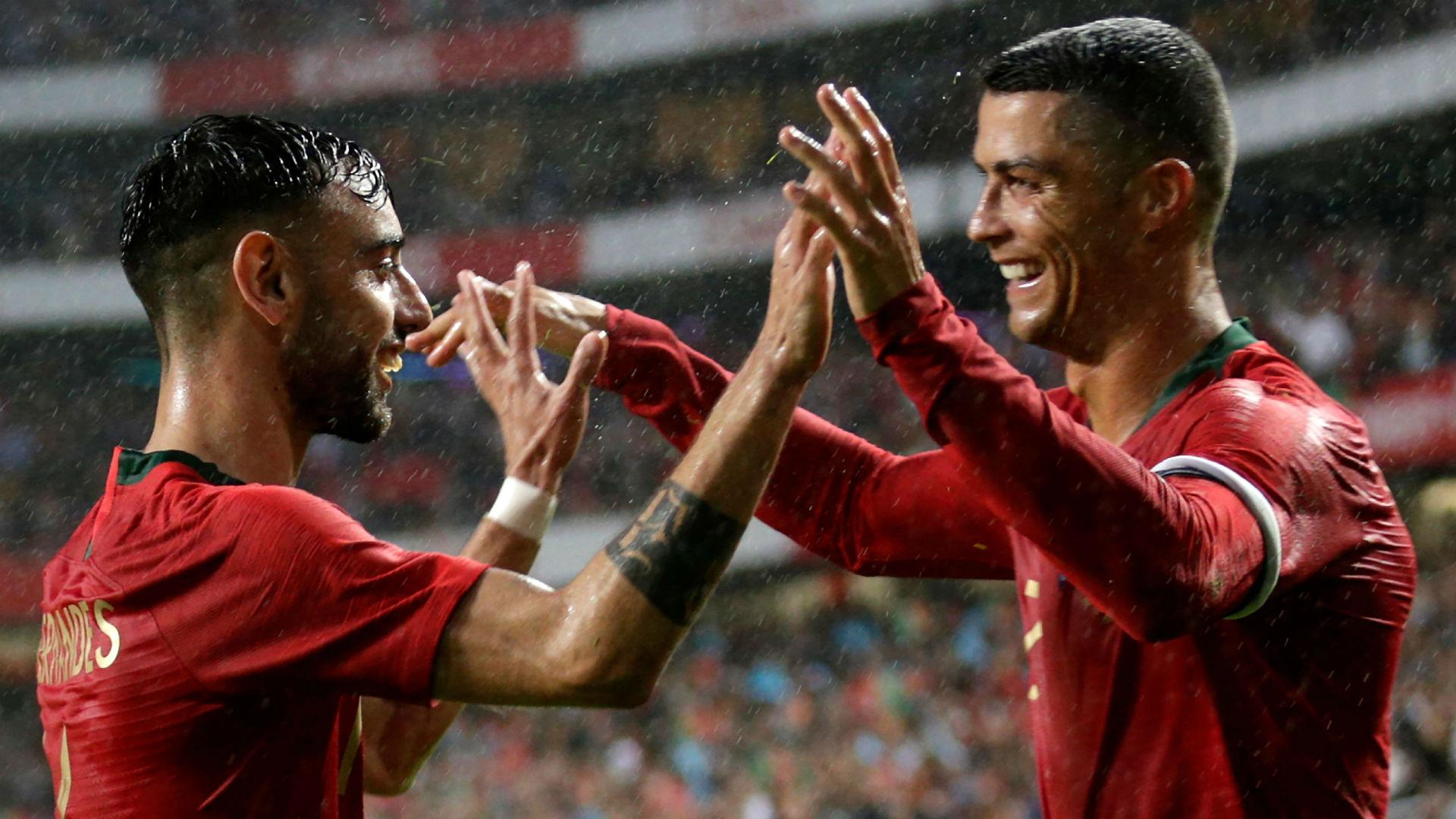 Cristiano Ronaldo Portugal Argelia amistoso 07 06 2018