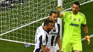 Buffon, Bonucci, Barzagli - Juventus