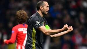 Chiellini Atletico Madrid Juventus Champions League