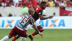 Marcos Junior Rodinei Flamengo Fluminense Brasileirao Serie A 12102017