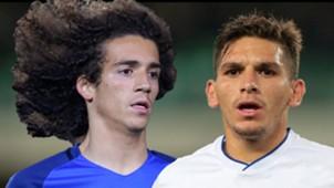 Matteo Guendouzi Lucas Torreira France Sampdoria 2017-18