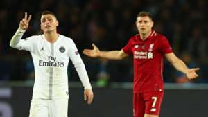 James Milner Verratti PSG Liverpool 28112018