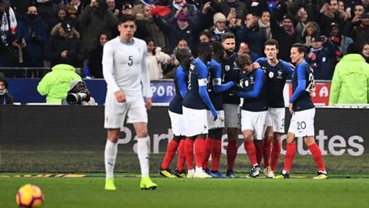 Frankreich Uruguay 2018 Friendly
