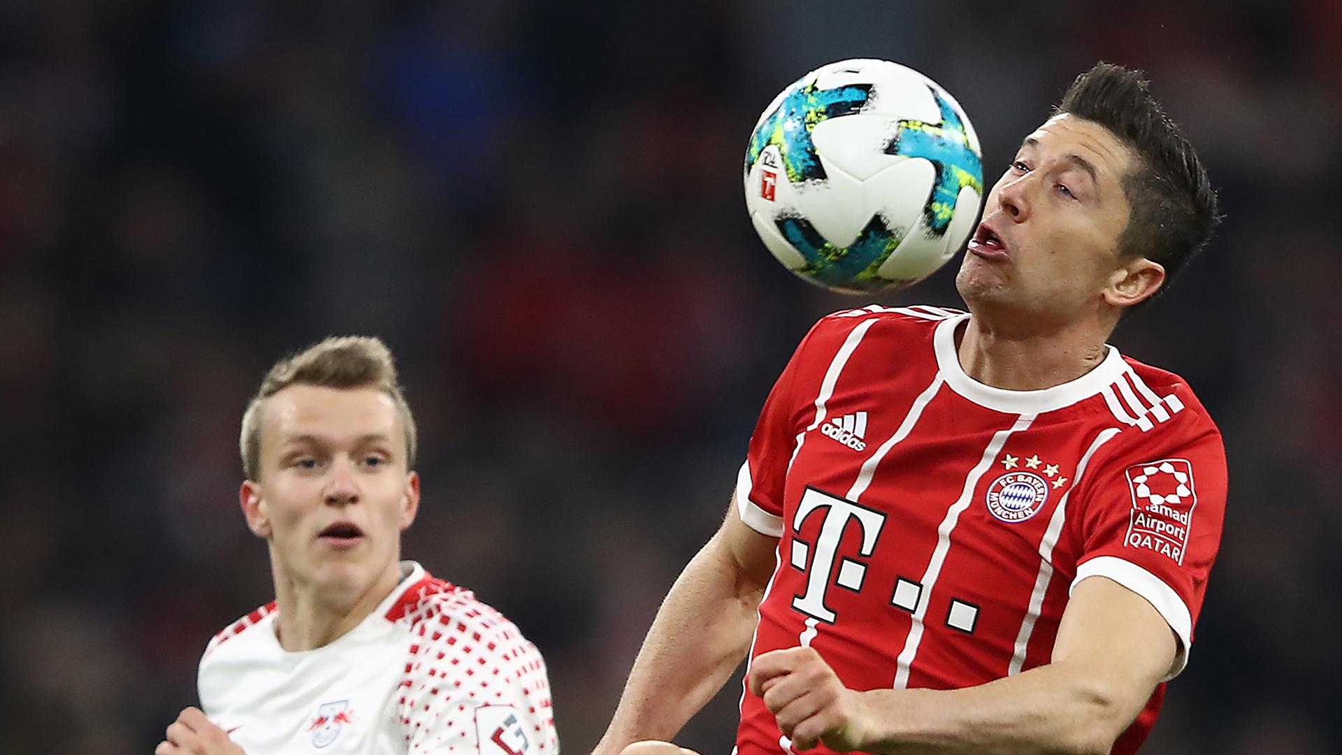 Robert Lewandowski RB Leipzig Bayern Munich Bundesliga