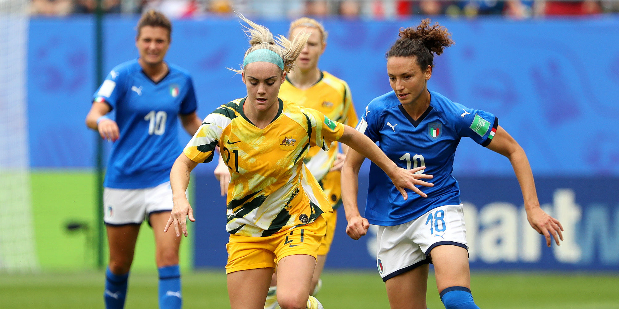 Australia Italy Women's World Cup