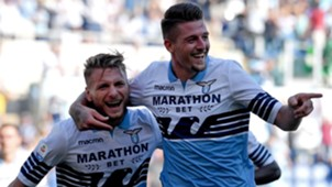 Immobile Milinkovic Savic Lazio Genoa