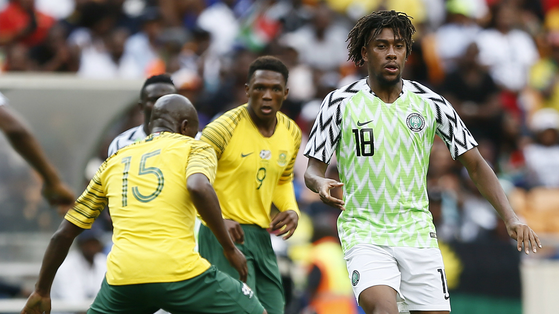 Afcon 2019: Nigeria v South Africa: Kick off, TV channel
