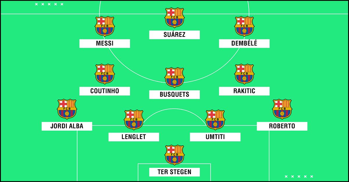 Cómo formaría el Barça con Lenglet