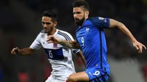 Olivier Giroud Aldin Skenderovic France Luxembourg World Cup Qualifiers 03092017