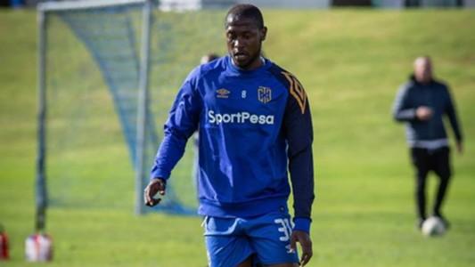 Kenya striker Masoud Juma of Cape Town City.