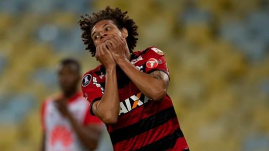 Willian Arao Flamengo Santa Fe 18042018 Copa Libertadores