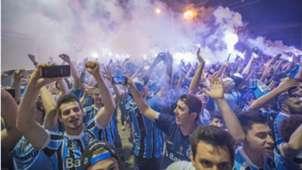 Torcida Grêmio River Plate Libertadores 30102018
