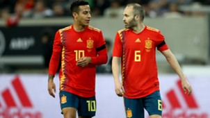 Iniesta Thiago Spain 2018