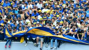 Boca Juniors fans Copa Libertadores final first leg 2018