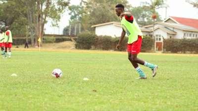 Kenneth Muguna of Gor Mahia and Harambee Stars.