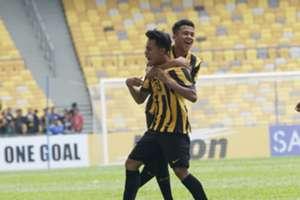 Luqman Hakim Shamsudin, Najmuddin Akmal, Malaysia U-16, AFC U-16 Championship, 20092018