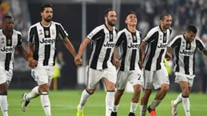 Juventus Dybal higuain Khedira Chiellini Dani Alves Evra Fiorentina 20082016