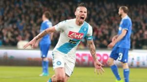 Marek Hamsikc, Napoli, Serie A, 04022017
