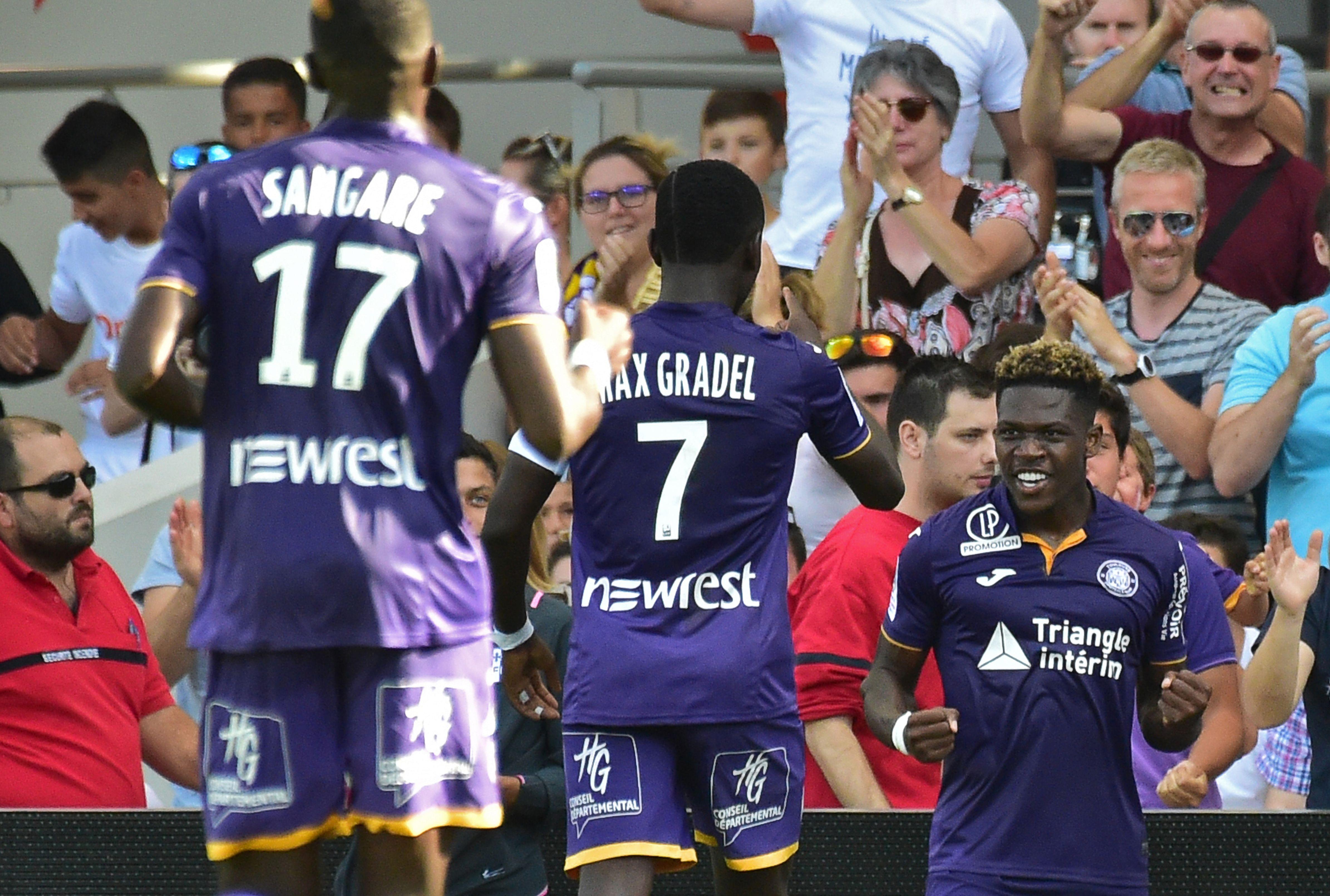 Leya Iseka Toulouse Bordeaux 19/08 Ligue 1