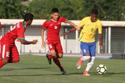 Indonesia U-19 Brasil U-20 Toulon