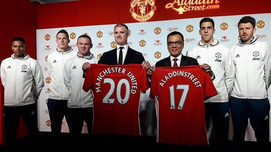 Aladdin Street Singapore and Manchester United press conference