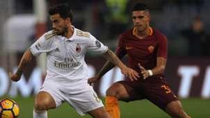 Suso De Rossi Roma Milan Serie A