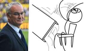 Ranieri table flip
