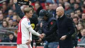 Frenkie de Jong, Ajax - Excelsior, 04132019