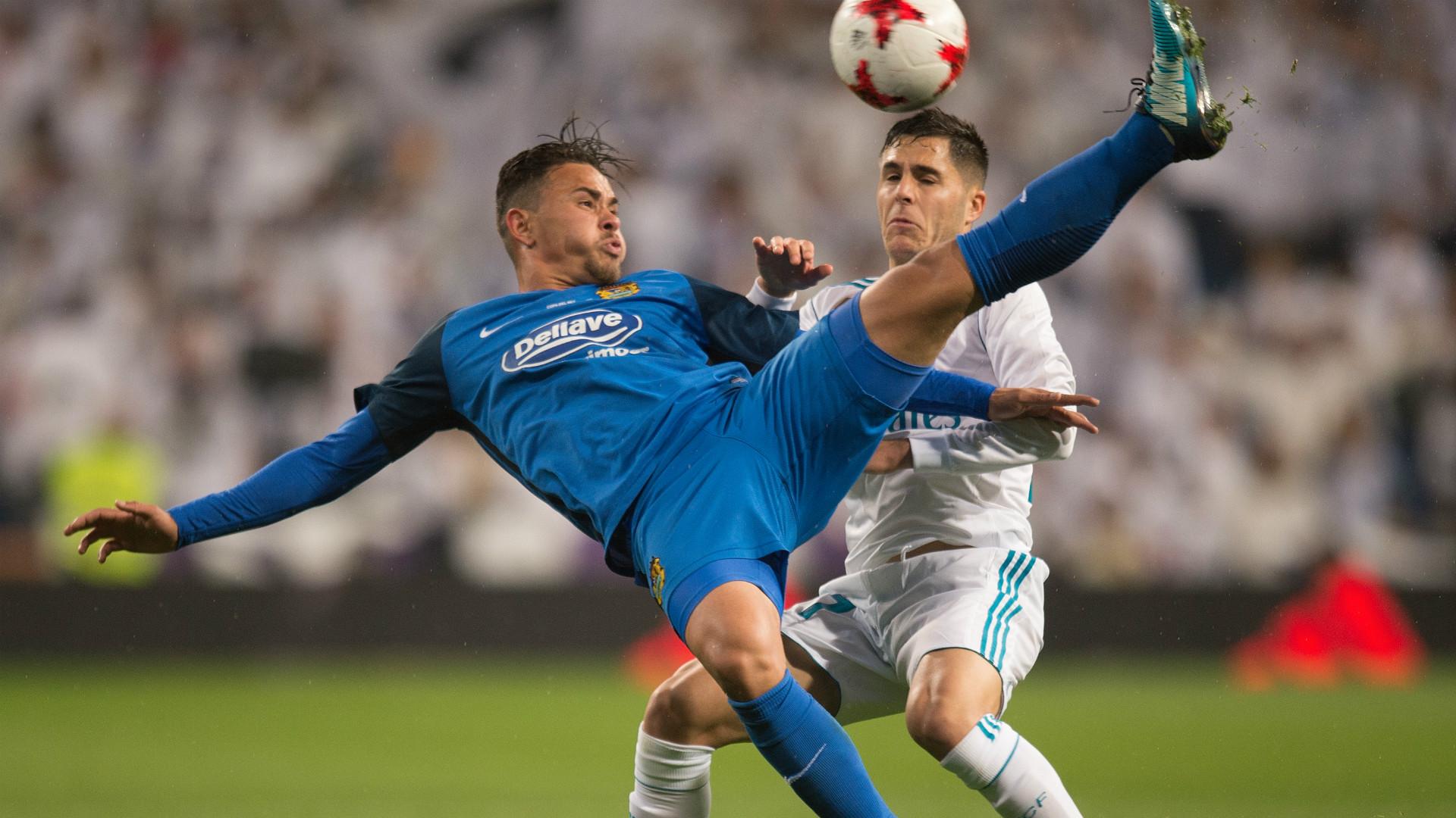 Alvaro Tejero Real Madrid Fuenlabrada Copa del Rey