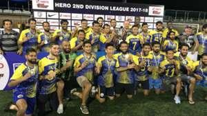 Real Kashmir 2017-18 I-League 2nd Div champions