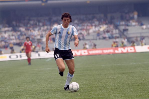 Jorge Valdano Argentina Mexico 86